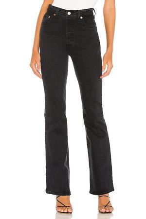 adidas Senhora Botas - Ribcage Boot in - Black. Size 23 (also in 24, 25, 26, 28, 29, 30).