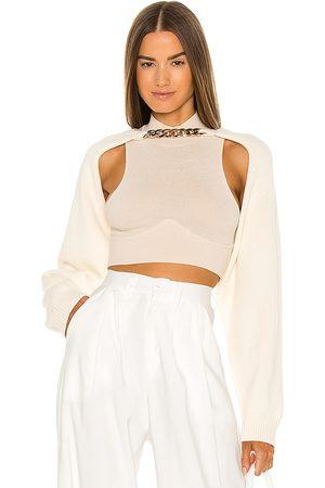 adidas Ava Knit Bolero Pullover in - . Size all.