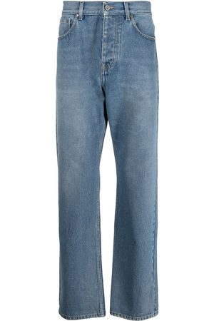 adidas Arkade high-rise straight-leg jeans