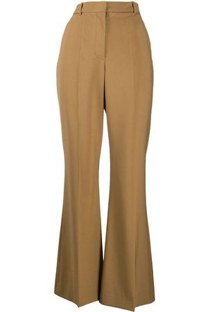 adidas Senhora Calças Formal - High-waisted flared tailored trousers