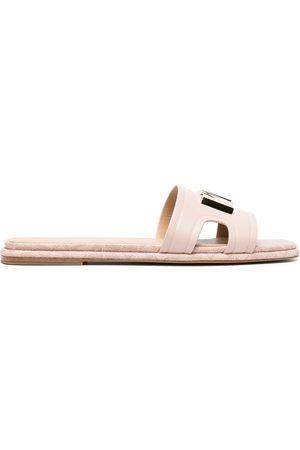 adidas Kippy leather slides