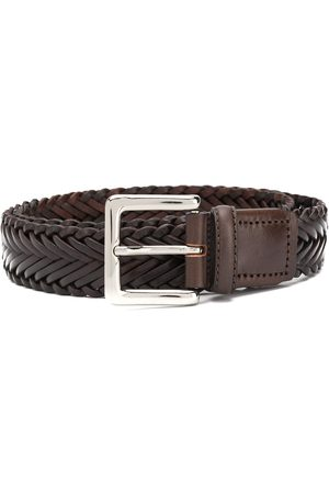 Scarosso Braided buckled belt