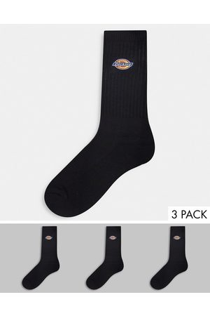 adidas Homem Meias - Valley Grove embroidered 3-pack sock in black