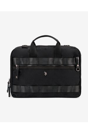 U.S. Polo Assn. New Waganer Bussiness Bag Black