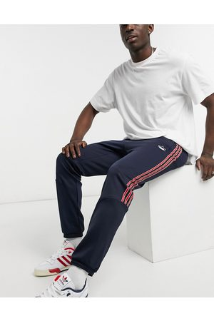 adidas Homem Joggers - SPRT track joggers in ink blue