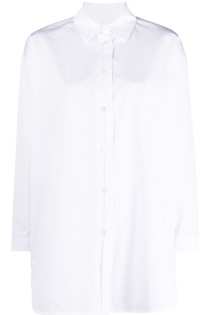 Jil Sander Senhora Camisas - Buttoned long shirt