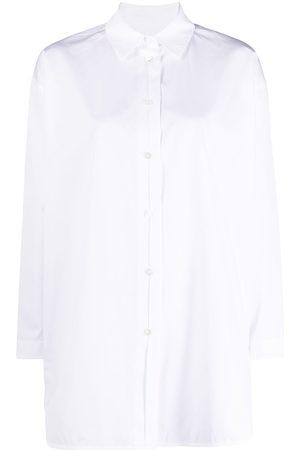 Jil Sander Senhora Camisas - Buttoned long shirt