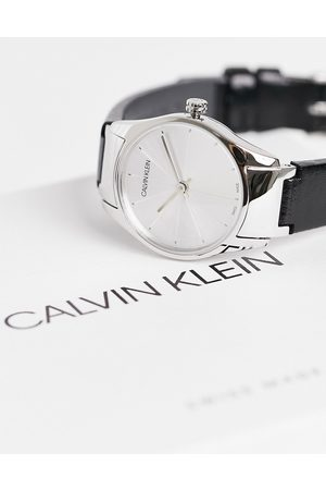 Calvin Klein Small dial watch-Black