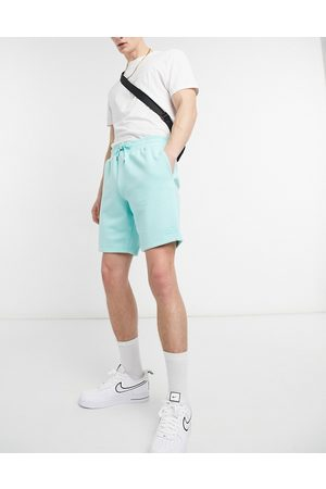 River Island Jersey shorts in green