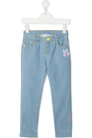 The Marc Jacobs Menina Skinny - Embroidered bunny skinny jeans