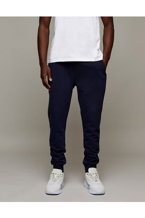 Topman Classic fit joggers in navy-Blue