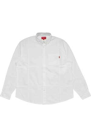 Supreme Patchwork Oxford shirt