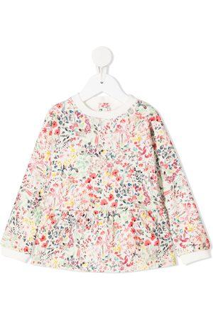 BONPOINT Bebé Camisolas sem capuz - Floral peplum sweatshirt