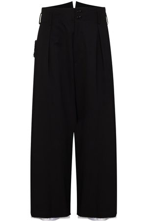 Sulvam Garbadine cropped trousers