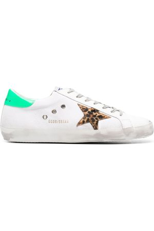 Golden Goose Super-Star canvas sneakers