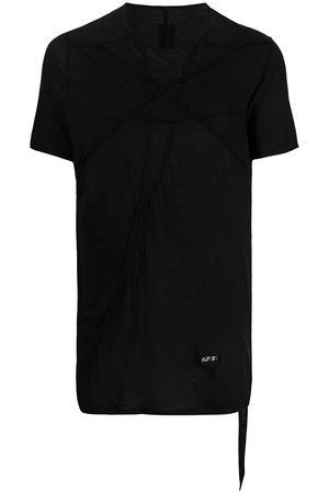 Rick Owens Asymmetric stitching T-shirt