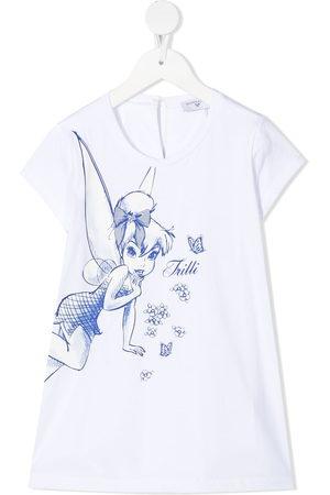 MONNALISA Tinkerbell-print T-shirt