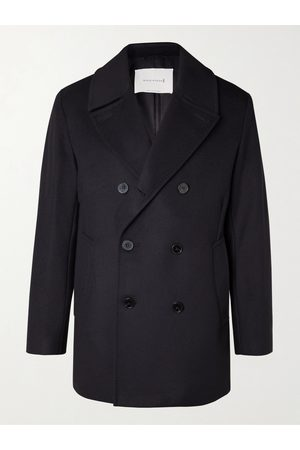 MACKINTOSH Dalton Wool and Cashmere-Blend Peacoat