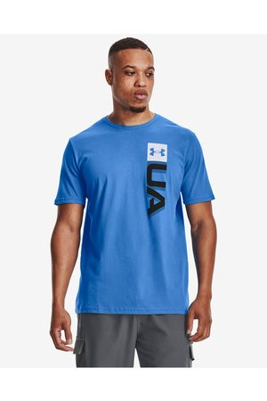 Under Armour Boxed Wordmark T-shirt Blue