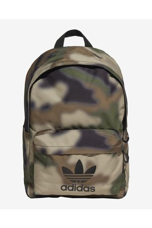 adidas Camo Classic Backpack Green Brown