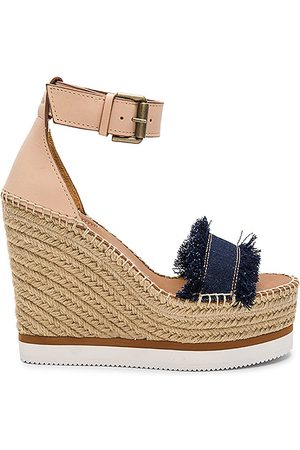 See by Chloé Frayed Wedge in . Size 36 (also in 38, 39, 40, 41).