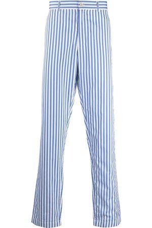 Comme Des Garçons Shirt Striped tailored trousers