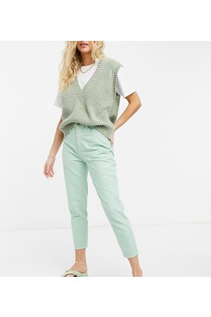 Reclaimed Vintage Inspired 89' tapered jean in mint wash-Blue
