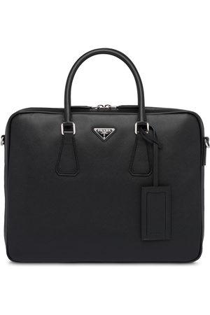 Prada Homem Pastas Negócios & Laptop - Saffiano leather briefcase