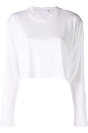 WARDROBE.NYC Release 03 long sleeve cropped T-shirt