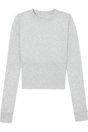 WARDROBE.NYC Fitted long-sleeve crop top