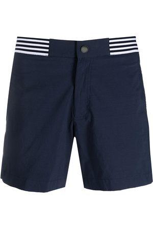 RON DORFF Stripe-detail swim shorts