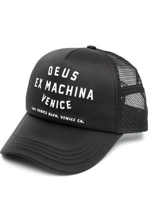 Deus Ex Machina Venice address-embroidered baseball cap