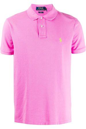 Polo Ralph Lauren Homem Formal - Slim-fit polo shirt