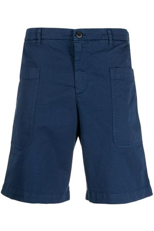 BARENA Straight-leg cargo shorts