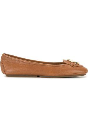 Michael Kors Senhora Oxford & Moccassins - Lillie leather moccasins