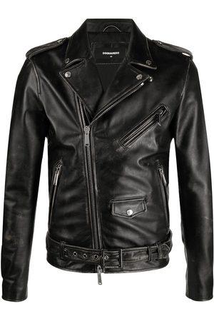 Dsquared2 Icon print biker jacket