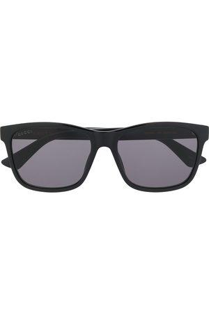 Gucci Homem Óculos de Sol - Rectangular frame sunglasses