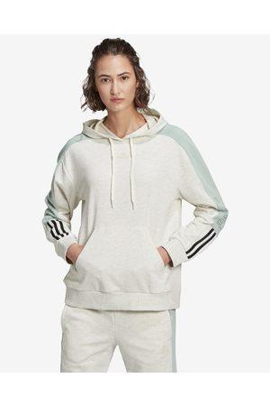 adidas Essentials Logo Sweatshirt Green Beige