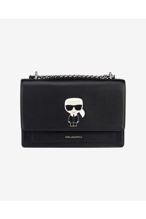 Karl Lagerfeld K/Ikonik Handbag Black