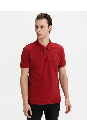 Napapijri Homem T-shirts & Manga Curta - Elbas 4 Polo T-shirt Red