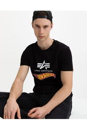 Alpha Industries Hot Wheels Flag T-shirt Black