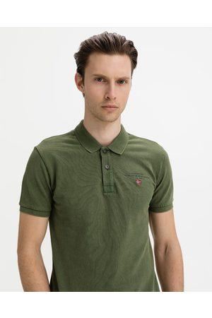 Napapijri Elbas 4 Polo T-shirt Green