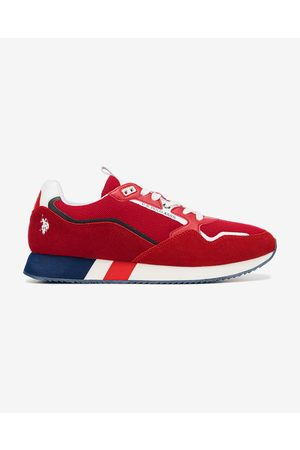 U.S. Polo Assn. Lewis Sneakers Red