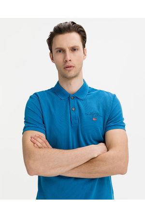 Napapijri Homem T-shirts & Manga Curta - Elbas 4 Polo T-shirt Blue