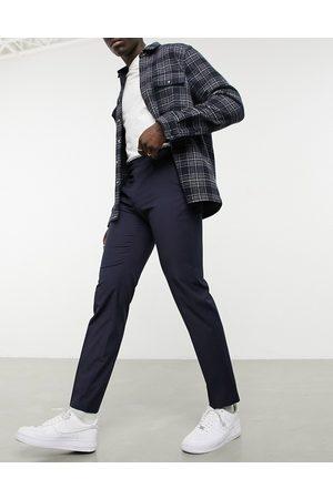 ASOS Slim smart trouser in navy