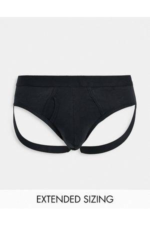 ASOS Jock strap in black