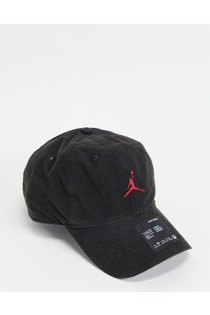 Jordan Homem Chapéus - Nike H86 Jumpman washed cap in black