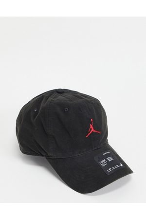Jordan Nike H86 Jumpman washed cap in black