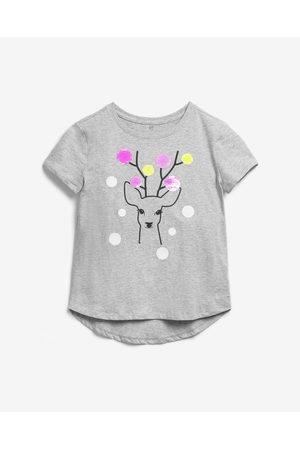 GAP Menina T-shirts & Manga Curta - Kids T-shirt Grey