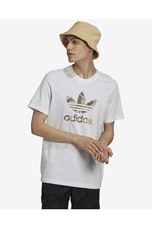 adidas Camo Trefoil T-shirt White